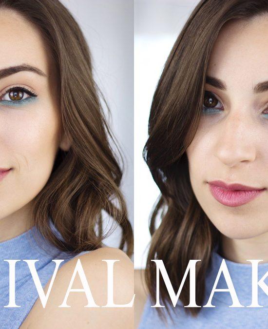 TBS festival makeup - YT thumbnail
