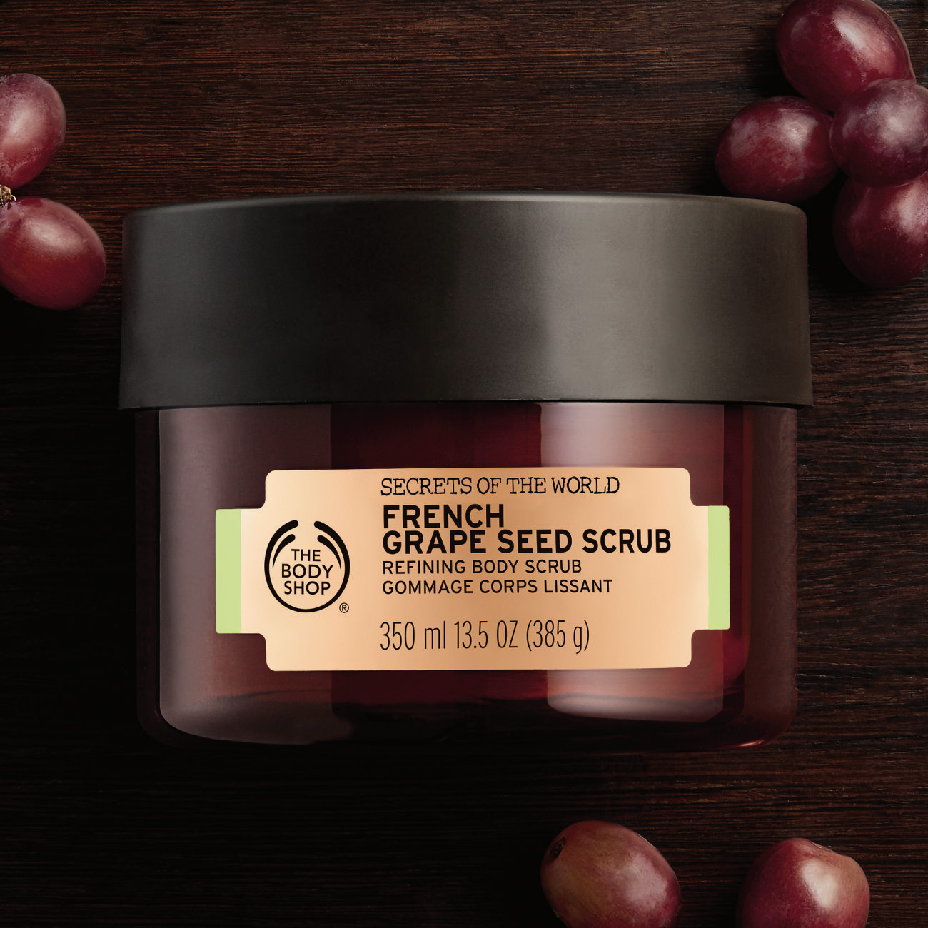 The Body Shop Spa of the World Francia szőlőmagos testradír