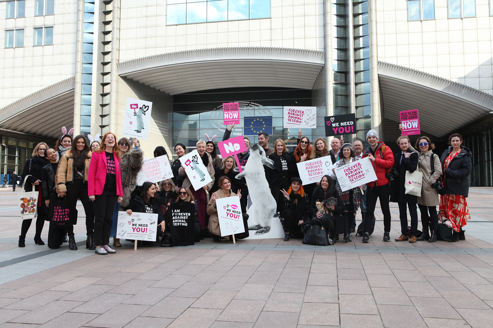Állatkísérletek betiltása - The Body Shop