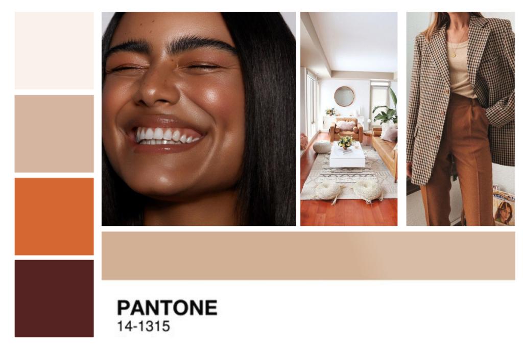 pantone smink inspiráció