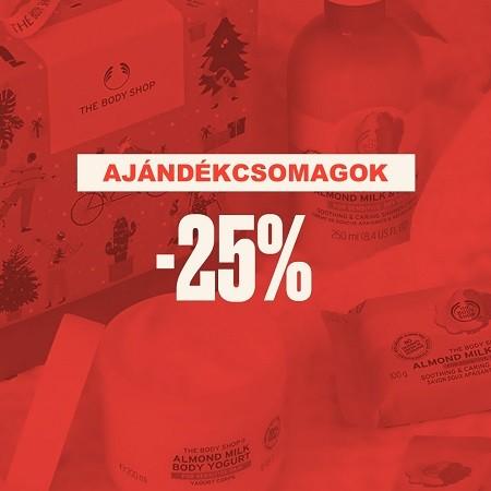 Ajándékcsomagok akár -25%