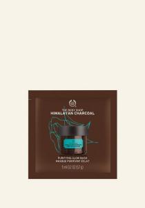 Himalájai bambusz szenes tisztító arcmaszk (5 ml)