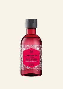 Japán cseresznyevirág és eper tusfürdő 250 ml