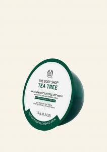 Teafaolajos tisztító lehúzható arcmaszk