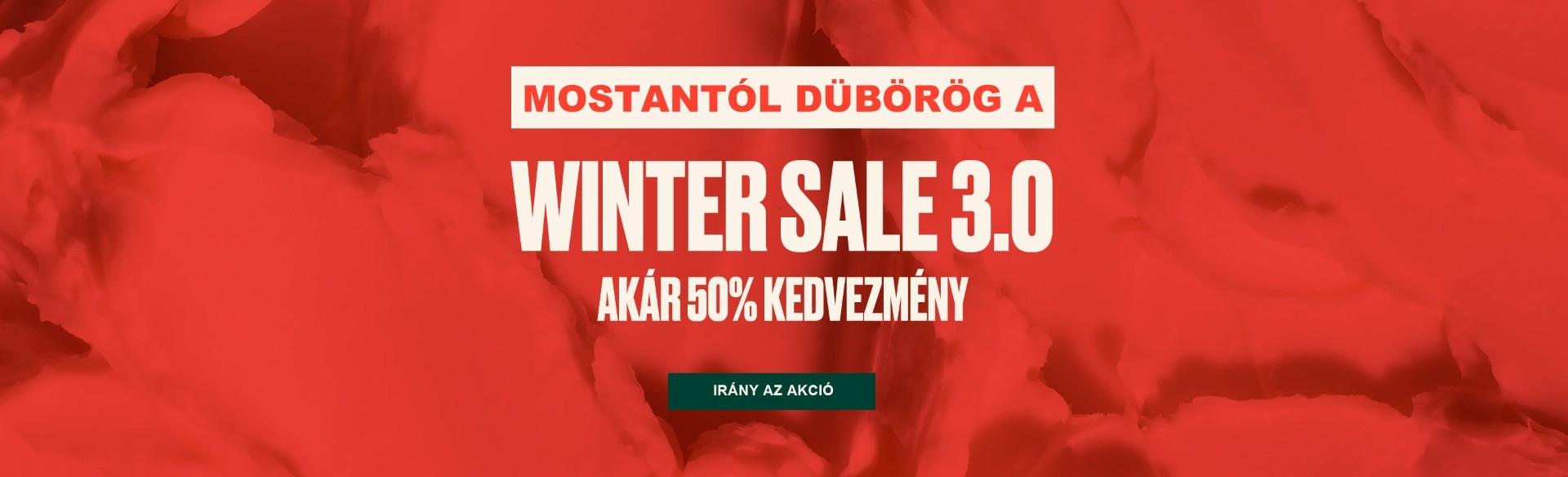 Akár -50% - Winter Sale 3.0.